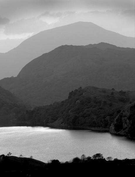 Photograph - Moel Hebog And Llyn Gwynant by Peter OReilly