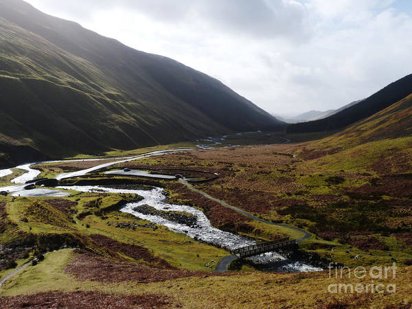 Southern Uplands Wall Art - Photograph - Moffat Water Valley by Phil Banks
