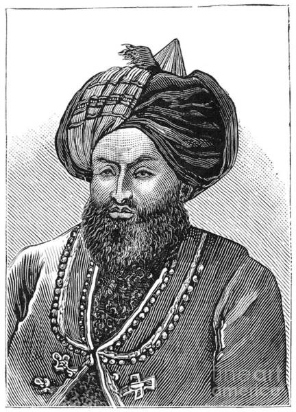 Painting - Mohammad Jan Khan Wardak 1879 by Granger