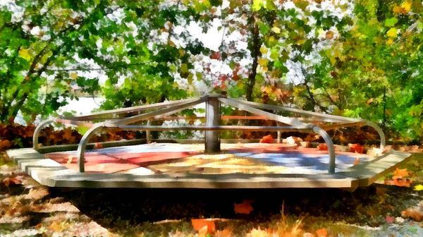 Painting - Mohegan Lake Merry-go-round by Derek Gedney