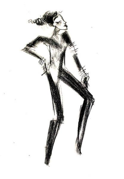 Mohenjodaro Girl Art Print