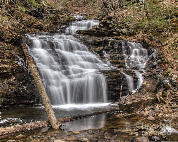 Photograph - Mohican Falls by Rod Best