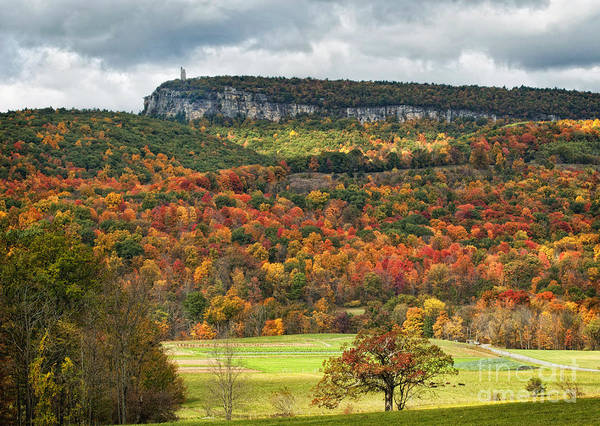 Hudson Valley Wall Art - Photograph - Mohonk Tower by Claudia Kuhn