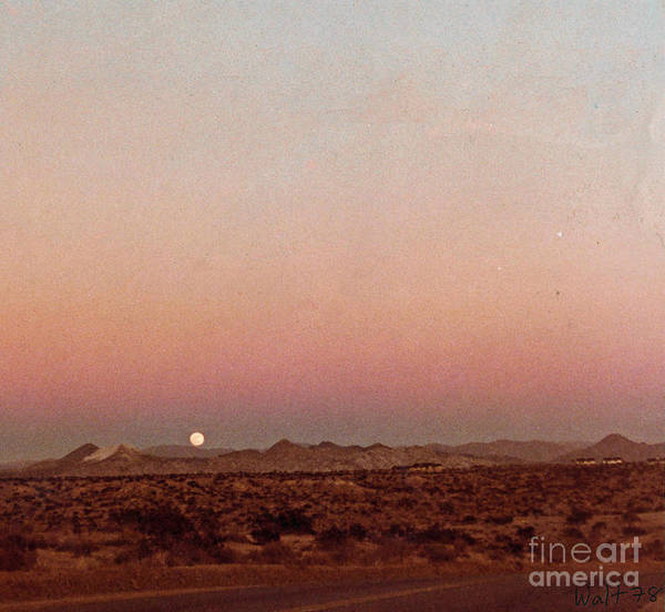 Digital Art - Mojave Sunset by Walter Chamberlain