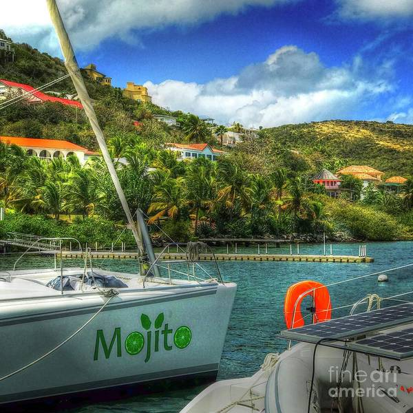 St. Maarten Photograph - Mojito by Debbi Granruth