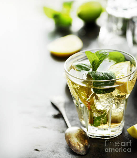 Cocktail Lounge Photograph - Mojito by Jelena Jovanovic