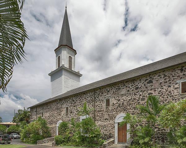 Photograph - Mokuaikaua Church 2 by Susan Rissi Tregoning