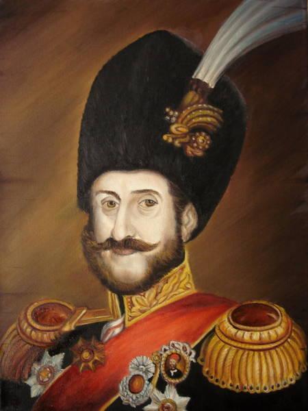 Painting - Moldavian Prince Sturza by Sorin Apostolescu