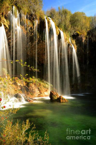 Photograph - Molino De San Pedro Waterfall by RicardMN Photography