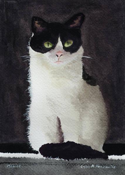 Painting - Mollee by Lynn Hansen