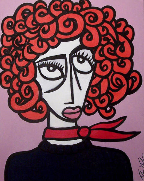 Wall Art - Painting - Molly by Thomas Valentine