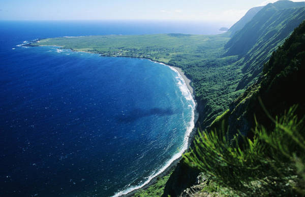 Gully Photograph - Molokai, View by Ali ONeal - Printscapes