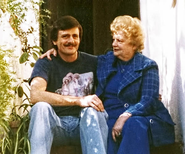 Photograph - Mom And I by Chuck Staley