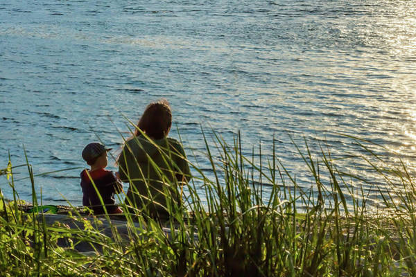 Photograph - Mother And Son by Ed Clark
