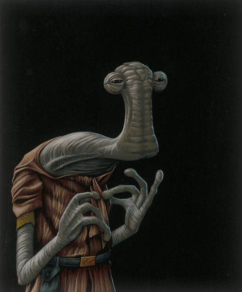 Toy Painting - Momaw Nadon by Jasper Oostland