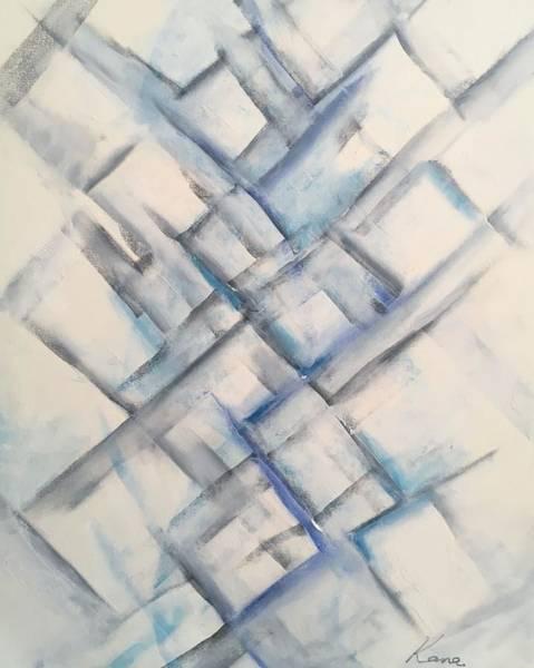 Drawing - moment ,Abstract art print  by Kanako Kumamaru