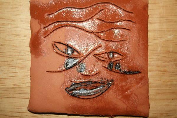 Ceramic Art - Moments - Tile by Gloria Ssali