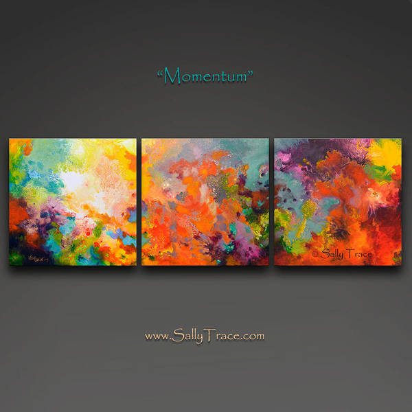 Painting - Momentum by Sally Trace