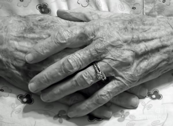 Photograph - Mommas Hands by D Hackett