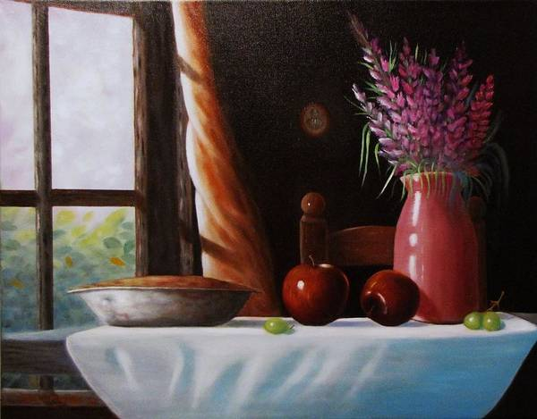 Painting - Mom's Apple Pie  by Gene Gregory