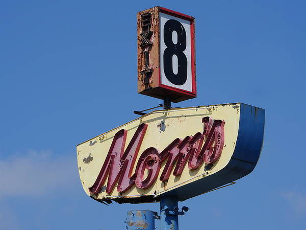 Photograph - Mom's Diner At Exit 8 by Richard Reeve