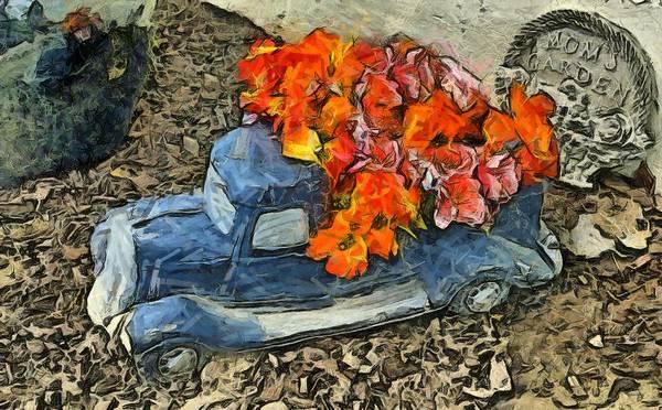 Photograph - Mom's Flower Garden Digital by Floyd Snyder