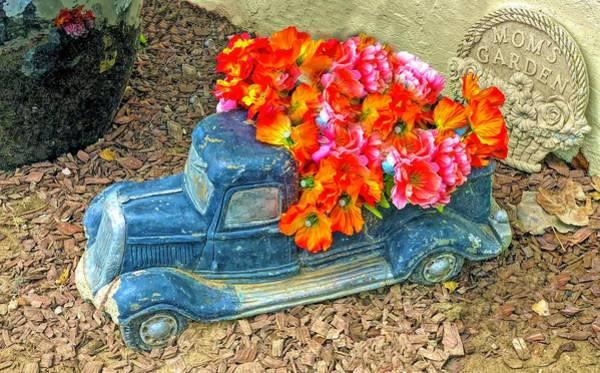 Photograph - Mom's Flower Garden by Floyd Snyder