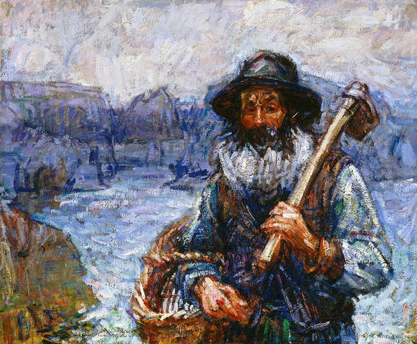Painting - Mon Ami 'polite by John Peter Russell