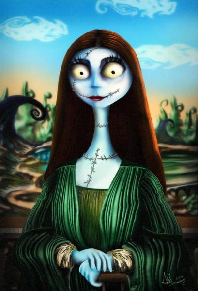 Nightmare Digital Art - Mona Lisa by Alessandro Della Pietra