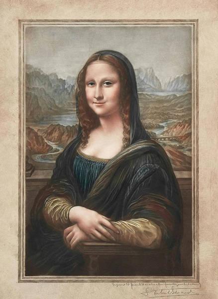 Mona Lisa Wall Art - Painting - Mona Lisa by Samuel Arlent-Edwards