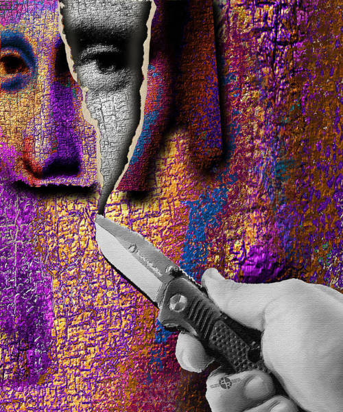 Painting - Mona Lisa What Lies Beneath 2  by Tony Rubino