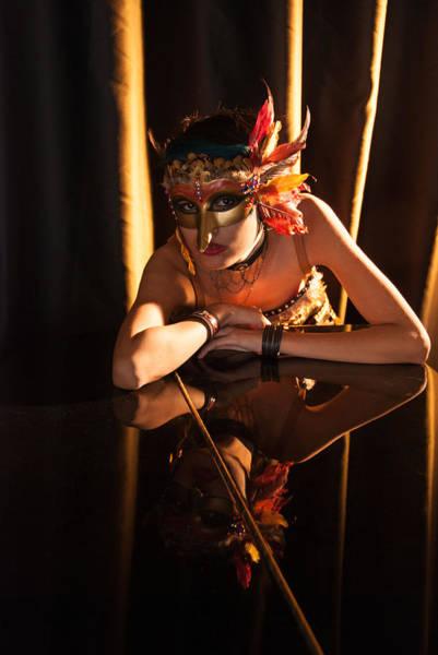 Photograph - Mona. Reflection On Grand Piano by Irina Archangelskaya