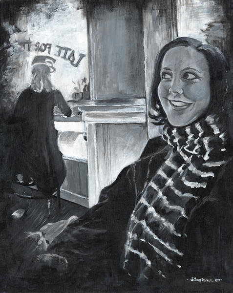 Mona Sandra  Art Print