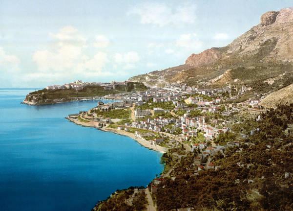 Photograph - Monaco 1900 by Andrew Fare
