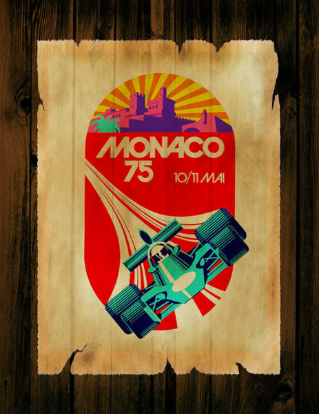 Wall Art - Photograph - Monaco 1975 by Mark Rogan