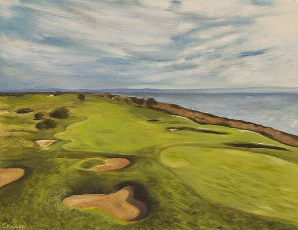 Monarch Bay Golf Course Art Print