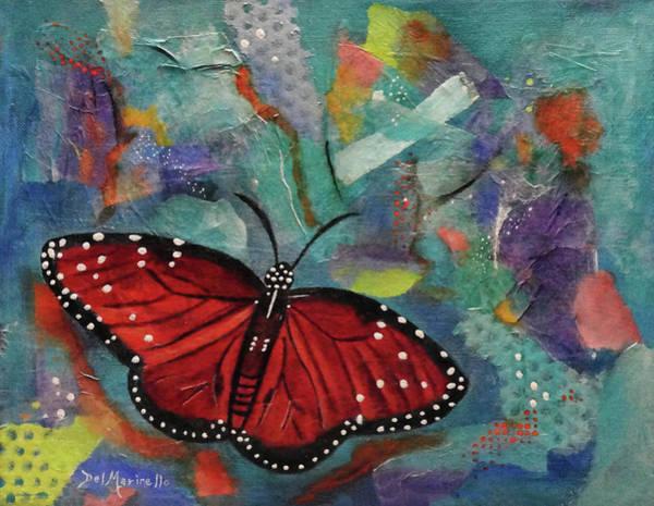 Dominate Painting - Monarch Dominion by Del Marinello