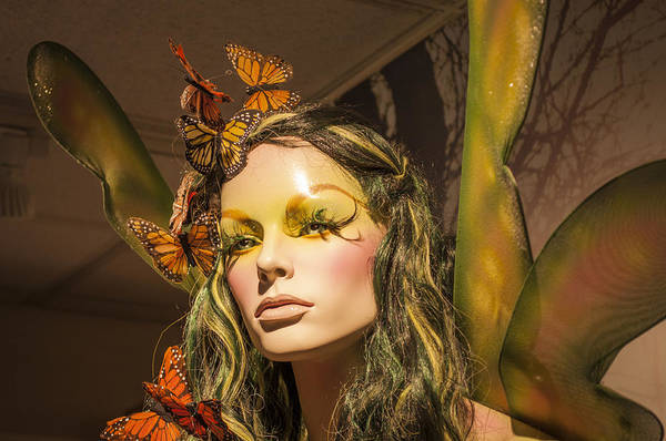 Wall Art - Photograph - Monarch Mannequin by Michel Emery