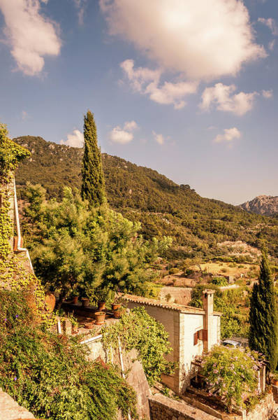Aurore Photograph - Monastery At Valldemossa View..... by Naylors Photography