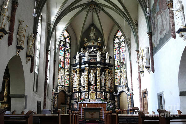 Monastery Church Oelinghausen, Germany Art Print