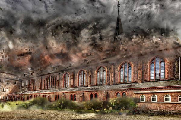 Photograph - Monastery Destruction by Ericamaxine Price