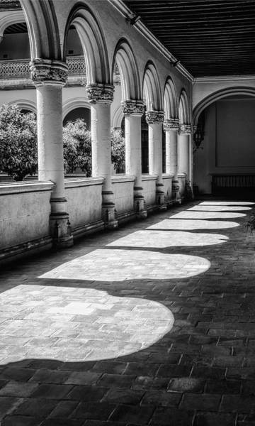 Photograph - Monastery Of Saint Jerome Bw by Joan Carroll