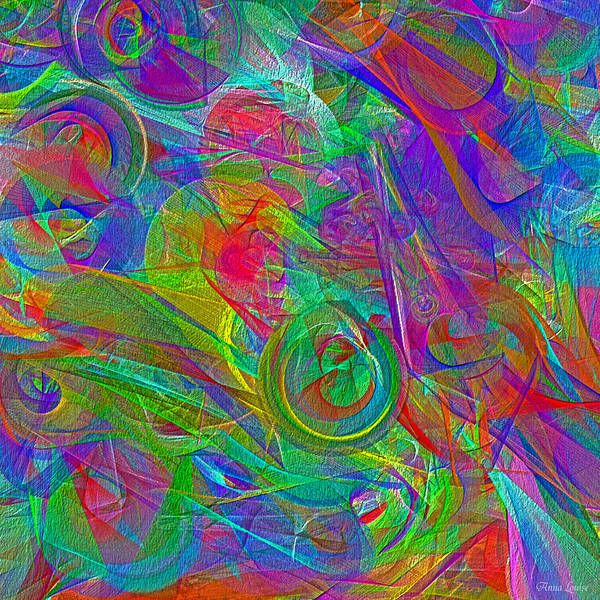 Digital Art - Monday Abstract by Anna Louise