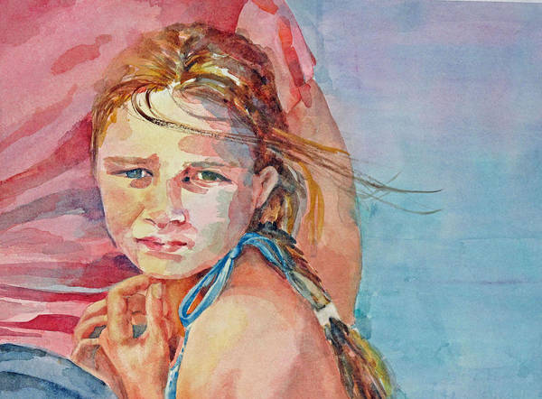 Painting - Monday's Child by Diane Fujimoto