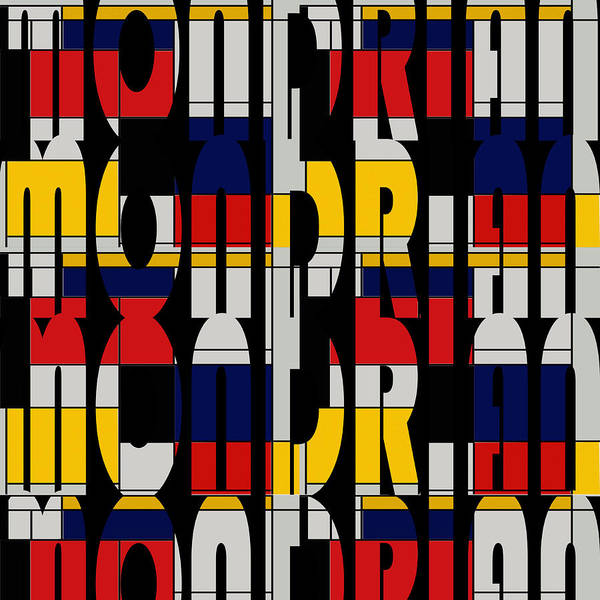 Photograph - Mondrian 2 by Andrew Fare