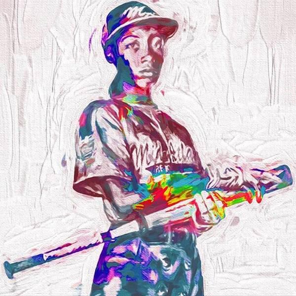 Baseball Wall Art - Photograph - Mo'ne Davis. The Future Of ? by David Haskett II
