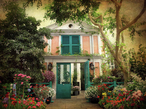 Giverny Photograph - Monet Home by Jessica Jenney