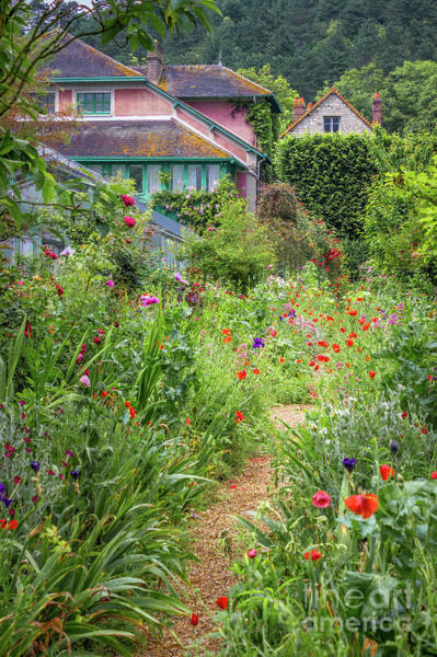 Claude Monet Photograph - Monet's Garden Path In Giverny by Liesl Walsh
