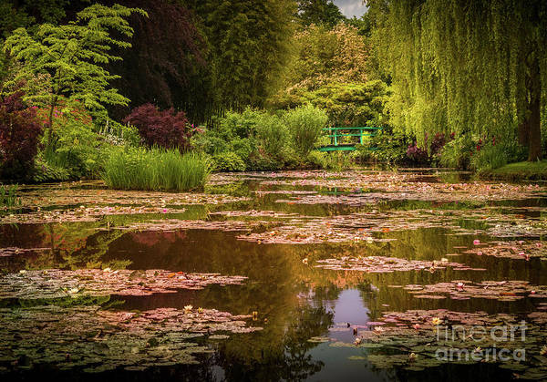 Claude Monet Photograph - Monet's Japanese Bridge In Giverny, France by Liesl Walsh