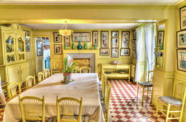 Giverny Photograph - Monet's Kitchen by Janet Fikar